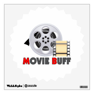 I'm A Movie Buff Wall Sticker