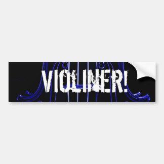 I'm a Neon Violiner Bumper Sticker