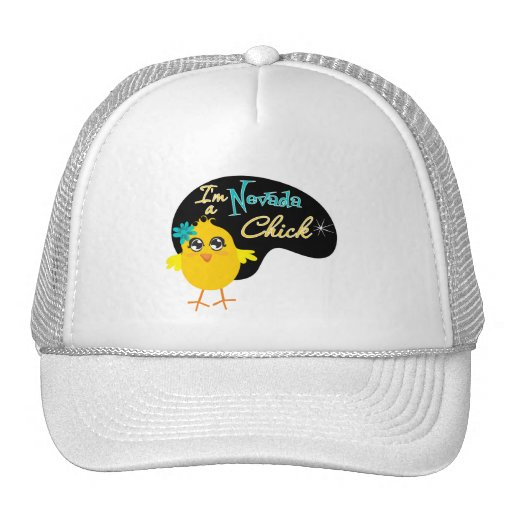 I'm a Nevada Chick Trucker Hat