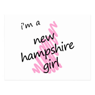 I'm a New Hampshire Girl Postcard
