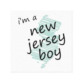 I'm a New Jersey Boy Canvas Prints