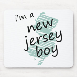 I'm a New Jersey Boy Mouse Pad