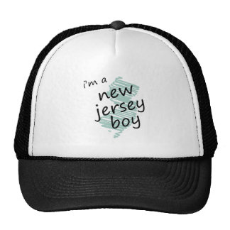 I'm a New Jersey Boy Trucker Hat