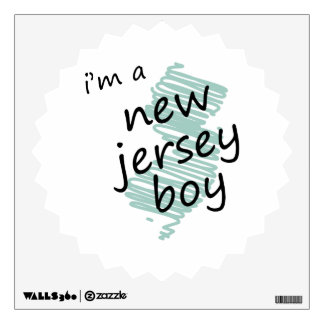I'm a New Jersey Boy Room Decal