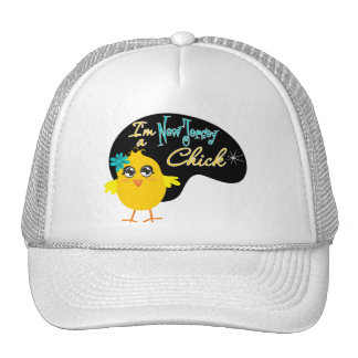I'm a New Jersey Chick Trucker Hat