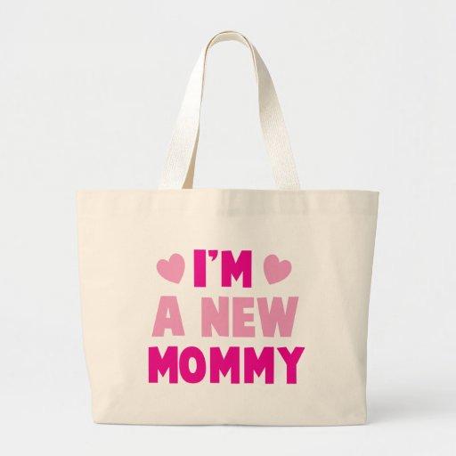 I'm a NEW MOMMY! Jumbo Tote Bag