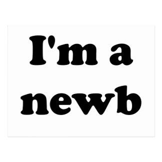 I'm a newb postcard