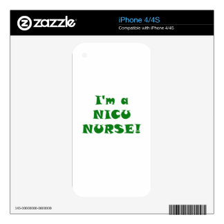 Im a Nicu Nurse Skins For The iPhone 4S