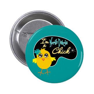I'm a North Dakota Chick Pins