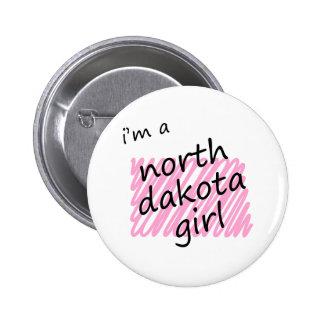 I'm a North Dakota Girl Pins