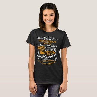 I'm a November woman T-Shirt