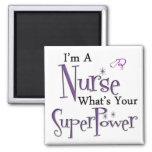 I'm A Nurse 2 Inch Square Magnet
