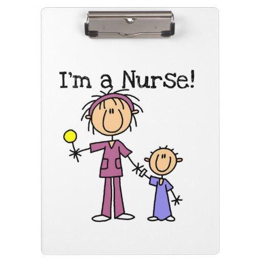 I'm a Nurse (pediatrics) Clipboard