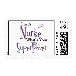 I'm A Nurse Postage Stamps