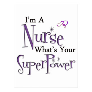 I'm A Nurse Postcards