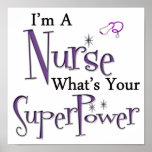 I'm A Nurse Poster
