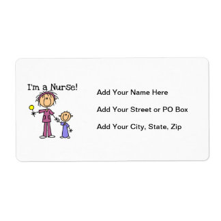 I'm a Nurse T-shirts and Gifts Label
