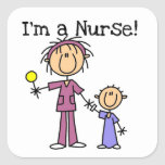 I'm a Nurse T-shirts and Gifts Square Sticker