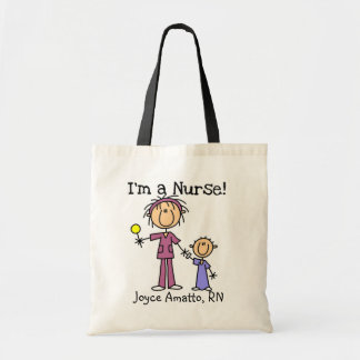 I'm a Nurse T-shirts and Gifts Tote Bag