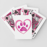 I'm a Nut About Curing Canine Cancer Playing Cards