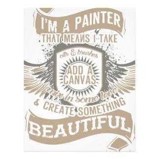 I'm A Painter Letterhead