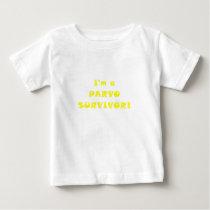 Im a Parvo Survivor Baby T-Shirt