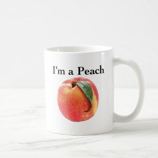 I'm a Peach Coffee Mugs
