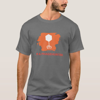 I'm a Phagehunter Logo T-Shirt (Orange)