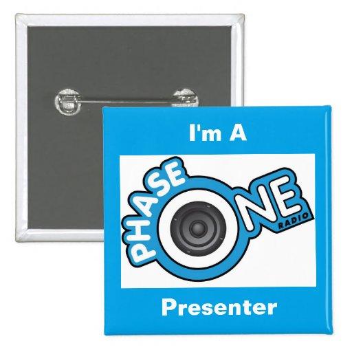 I'm A PhaseOne Radio Presenter Button