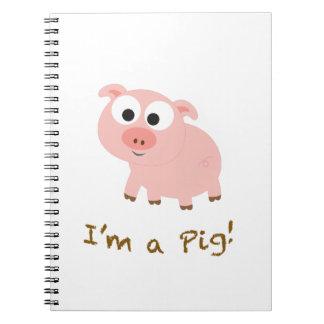 I'm a Pig! Note Book