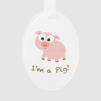 I'm A Pig Ornament
