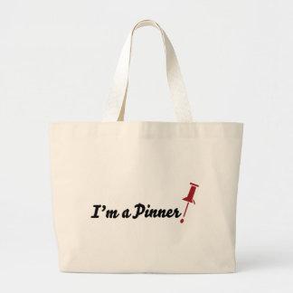 I'm a Pinner! Canvas Bag