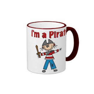 I'm a Pirate Ringer Coffee Mug