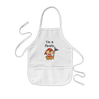 I'm a Pirate T-shirts and Gifts Kids' Apron