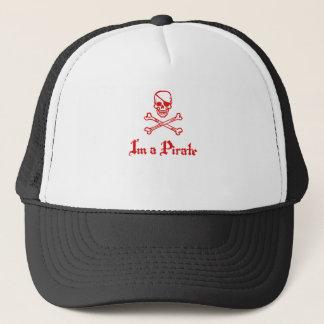 Im a Pirate Trucker Hat