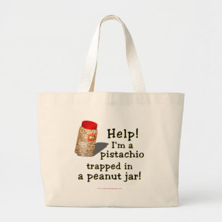 I'm a Pistachio Large Tote Bag