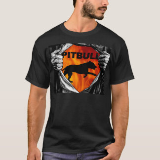 I'm a Pitbull Inside T Shirt Great looking Shirt