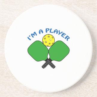 Im A Player Sandstone Coaster