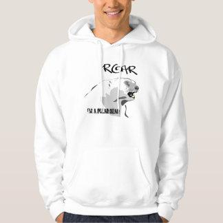 I'm a Polar Bear Hooded Pullover