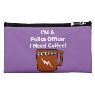 I'M A Police Officer, I Need Coffee! Makeup Bag