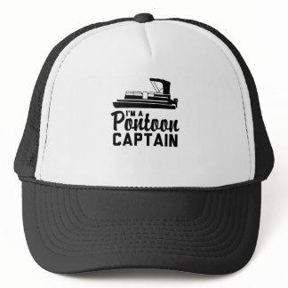 I'm A Pontoon Captain Trucker Hat