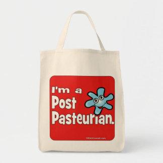 I'm a Post-Pasteurian Canvas Bag