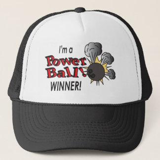 I'm a Power Ball Winner | Bowling Pins and Ball Trucker Hat