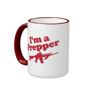 I'm A Prepper Ringer Mug