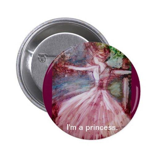 """""""I'm a princess"""" Button"""