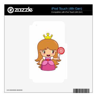 I'm a Princess iPod Touch 4G Skins