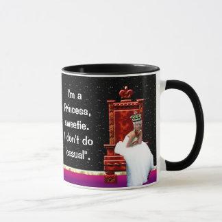 """I'm a Princess, sweetie"" mug"