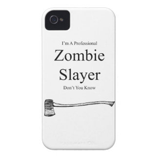 I'm A Professional Zombie Slayer iPhone 4 4s Cover