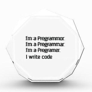 I'm A Programer. I Write Code Awards