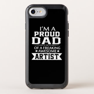I'M A PROUD ARTIST'S DAD SPECK iPhone CASE